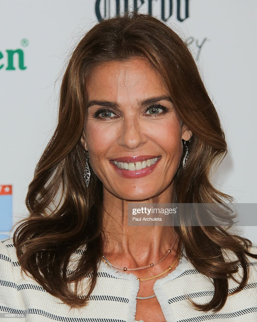 Actress <a gi-track='captionPersonalityLinkClicked' href=/galleries/search?phrase=Kristian+Alfonso&family=editorial&specificpeople=238843 ng-click='$event.stopPropagation()'>Kristian Alfonso</a> attends the OK! TV Emmy pre-awards party at Sofitel Hotel on August 21, 2014 in Los Angeles, California.