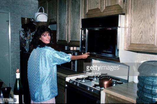 Vintage Microwave Oven Stock Photos And Pictures Getty