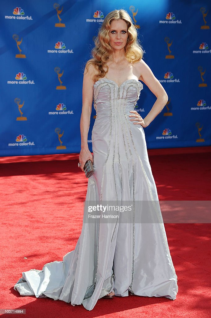 Actress Kristin Bauer arrives at the 62nd Annual Primetime Emmy Awards held at the Nokia Theatre L.A. Live on August 29, 2010 in Los Angeles, California.