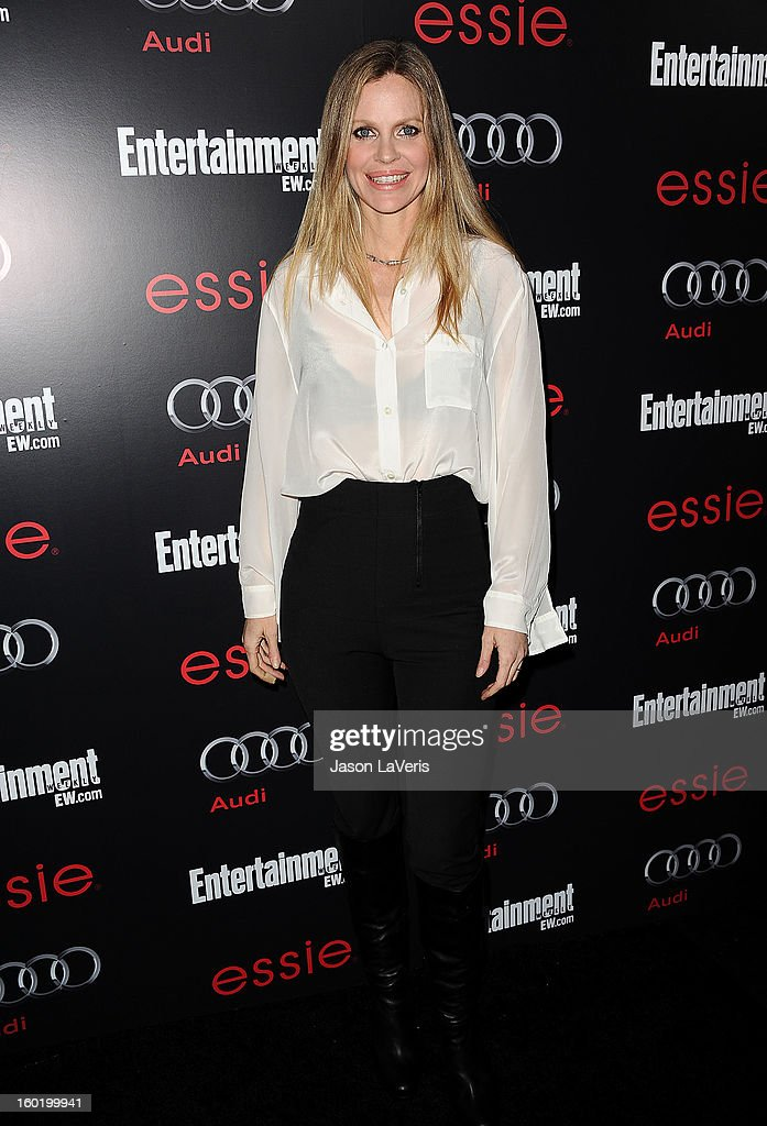 Actress Kristin Bauer attends the Entertainment Weekly Screen Actors Guild Awards pre-party at Chateau Marmont on January 26, 2013 in Los Angeles, California.