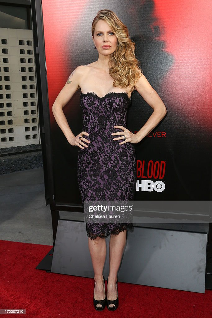 Actress Kristin Bauer van Straten arrives at HBO's 'True Blood' season 6 premiere at ArcLight Cinemas Cinerama Dome on June 11, 2013 in Hollywood, California.