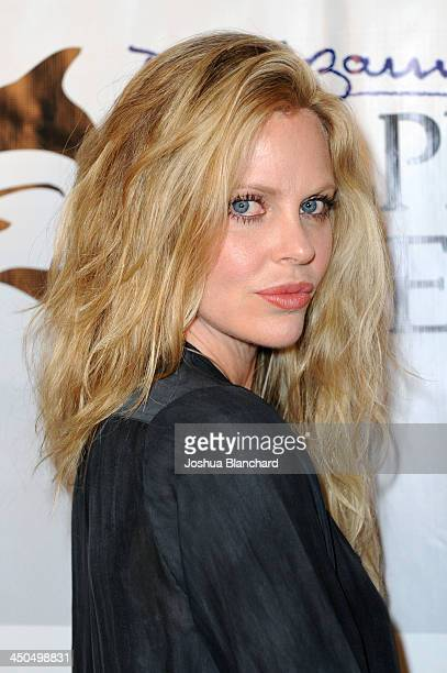 Actress Kristin Bauer van Straten arrives at the Avalon for Kings of Chaos Tokyo Celebrates The Dolphin Benefit Concert on November 18 2013 in...