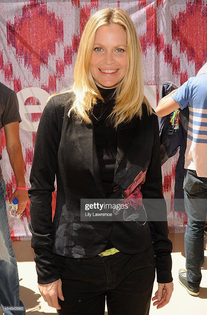Actress Kristin Bauer van Straten attends the HBO Luxury Lounge featuring PANDORA at Four Seasons Hotel Los Angeles at Beverly Hills on August 23, 2014 in Beverly Hills, California.