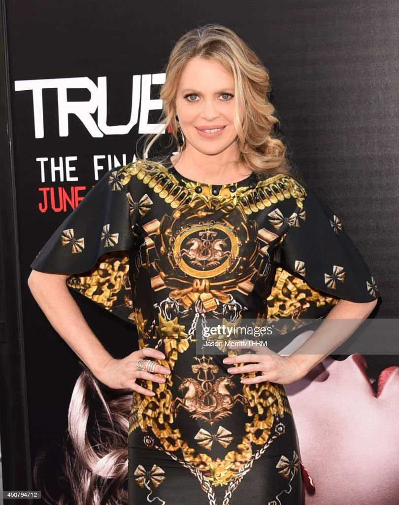 Actress <a gi-track='captionPersonalityLinkClicked' href=/galleries/search?phrase=Kristin+Bauer&family=editorial&specificpeople=3164038 ng-click='$event.stopPropagation()'>Kristin Bauer</a> van Straten attends the premiere of HBO's 'True Blood' season 7 and final season at TCL Chinese Theatre on June 17, 2014 in Hollywood, California.