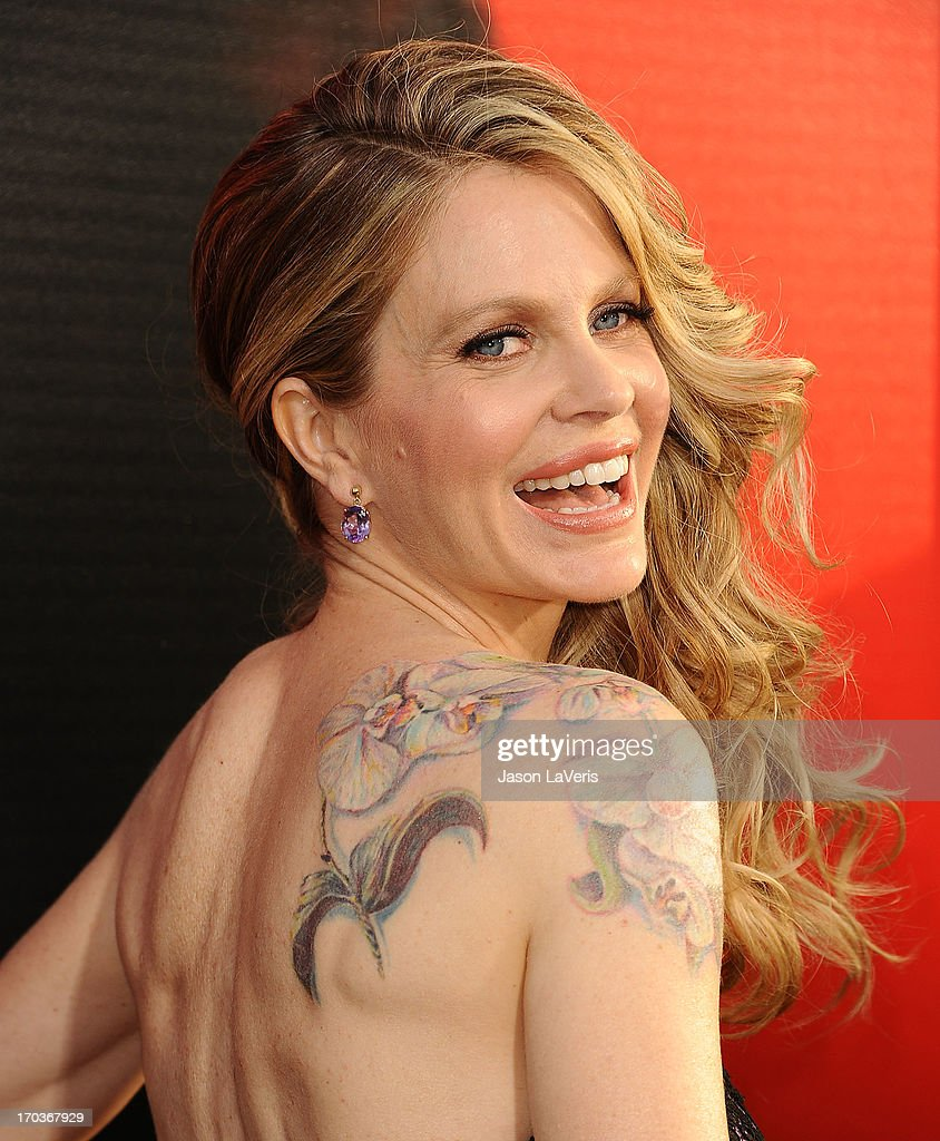 Actress <a gi-track='captionPersonalityLinkClicked' href=/galleries/search?phrase=Kristin+Bauer&family=editorial&specificpeople=3164038 ng-click='$event.stopPropagation()'>Kristin Bauer</a> van Straten attends the season 6 premiere of HBO's 'True Blood' at ArcLight Cinemas Cinerama Dome on June 11, 2013 in Hollywood, California.