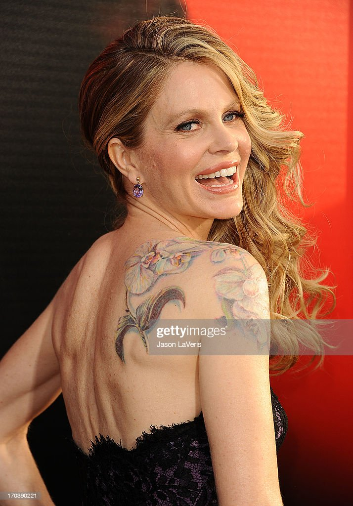Actress Kristin Bauer van Straten attends the season 6 premiere of HBO's 'True Blood' at ArcLight Cinemas Cinerama Dome on June 11, 2013 in Hollywood, California.