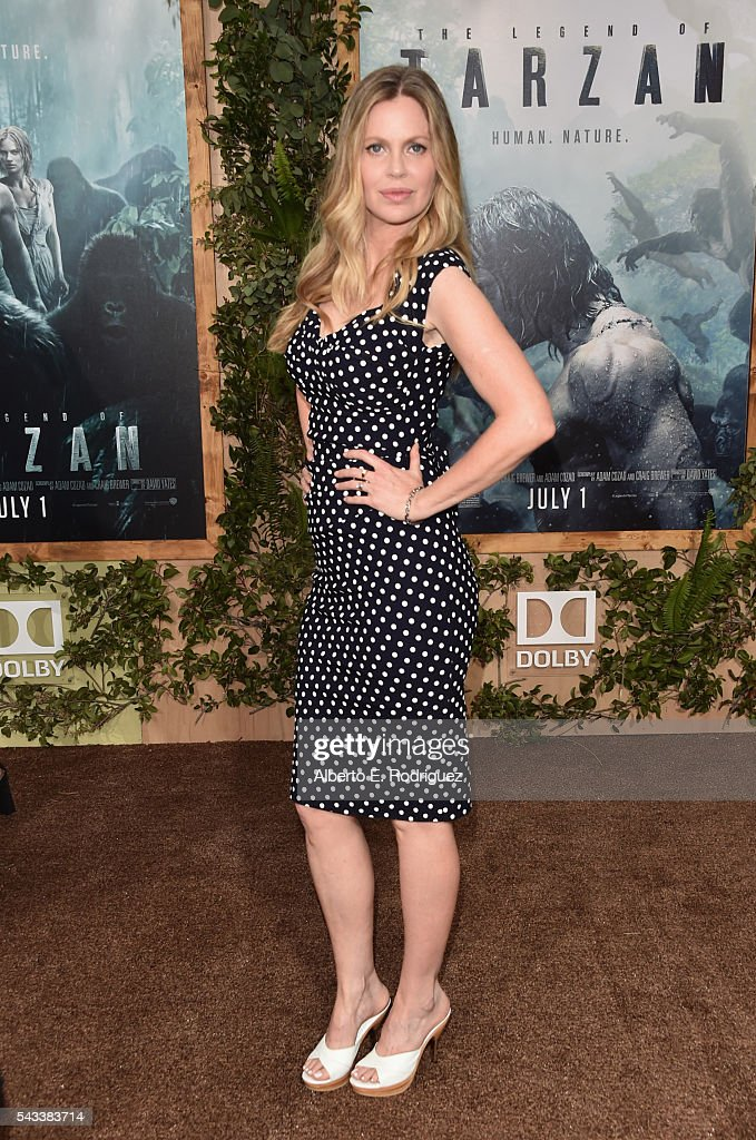 Actress Kristin Bauer von Stranten attends the premiere of Warner Bros. Pictures' 'The Legend of Tarzan' at Dolby Theatre on June 27, 2016 in Hollywood, California.