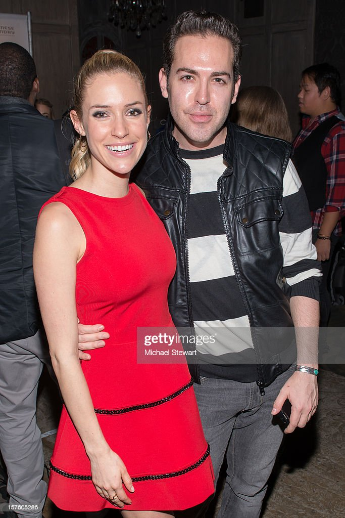 Actress <a gi-track='captionPersonalityLinkClicked' href=/galleries/search?phrase=Kristin+Cavallari&family=editorial&specificpeople=552572 ng-click='$event.stopPropagation()'>Kristin Cavallari</a> (L) and publicist Tyler Burrow attend Chinese Laundry by <a gi-track='captionPersonalityLinkClicked' href=/galleries/search?phrase=Kristin+Cavallari&family=editorial&specificpeople=552572 ng-click='$event.stopPropagation()'>Kristin Cavallari</a> Launch Party on December 4, 2012 in New York City.