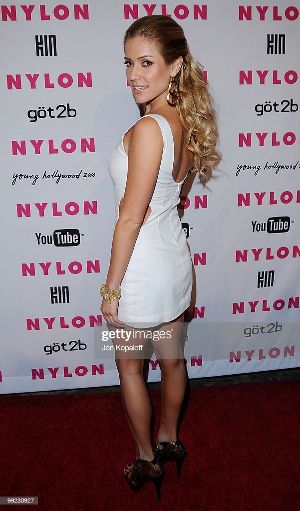 Actress Kristin Cavallari arrives at NYLON Magazine's May Issue Young Hollywood Launch Party at The Roosevelt Hotel on May 12, 2010 in Hollywood, California.