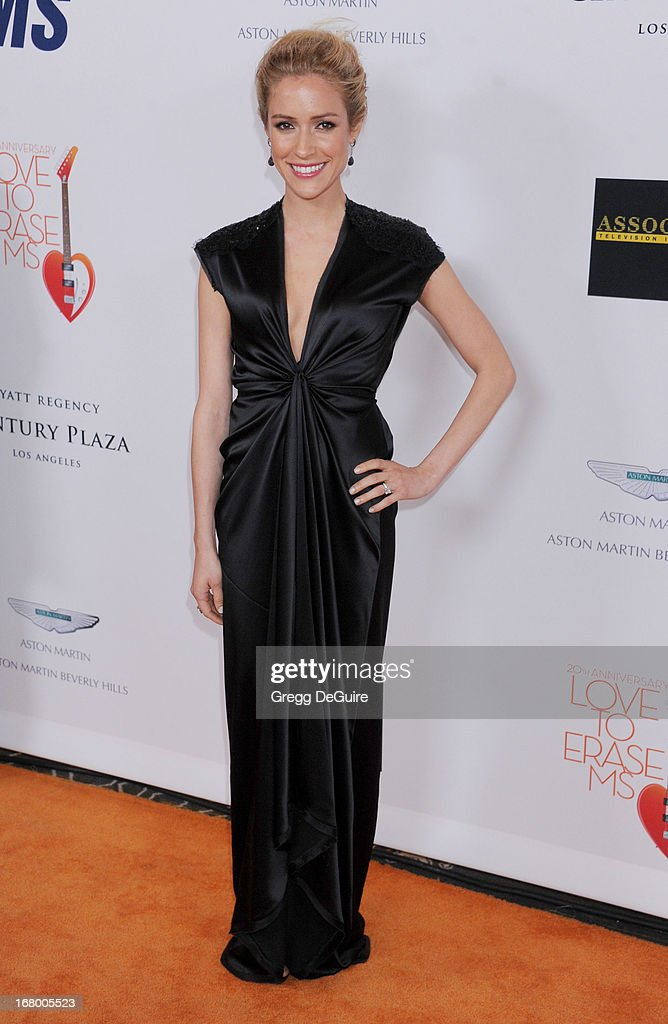 Actress Kristin Cavallari arrives at the 20th Annual Race To Erase MS Gala 'Love To Erase MS' at the Hyatt Regency Century Plaza on May 3, 2013 in Century City, California.