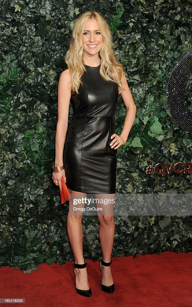 Actress Kristin Cavallari arrives at the QVC 'Red Carpet Style' party at Four Seasons Hotel Los Angeles at Beverly Hills on February 22, 2013 in Beverly Hills, California.