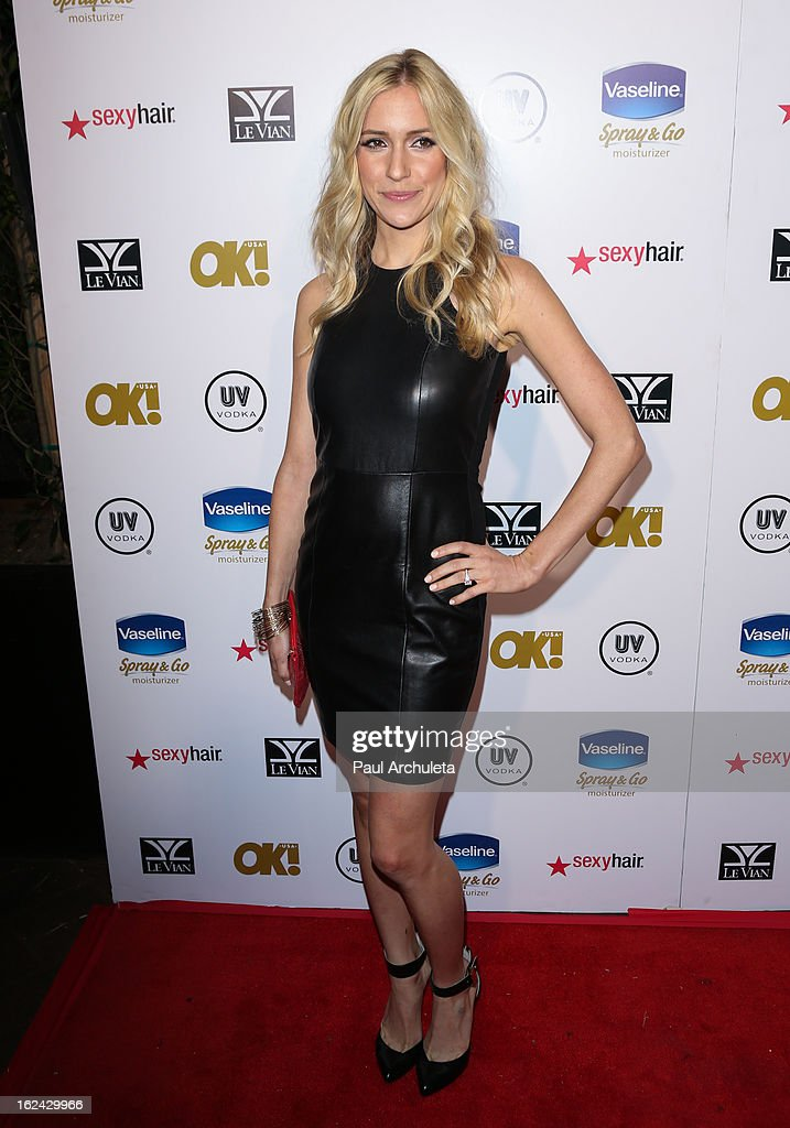 Actress <a gi-track='captionPersonalityLinkClicked' href=/galleries/search?phrase=Kristin+Cavallari&family=editorial&specificpeople=552572 ng-click='$event.stopPropagation()'>Kristin Cavallari</a> attends OK! Magazine's Pre-Oscar party at The Emerson Theatre on February 22, 2013 in Hollywood, California.