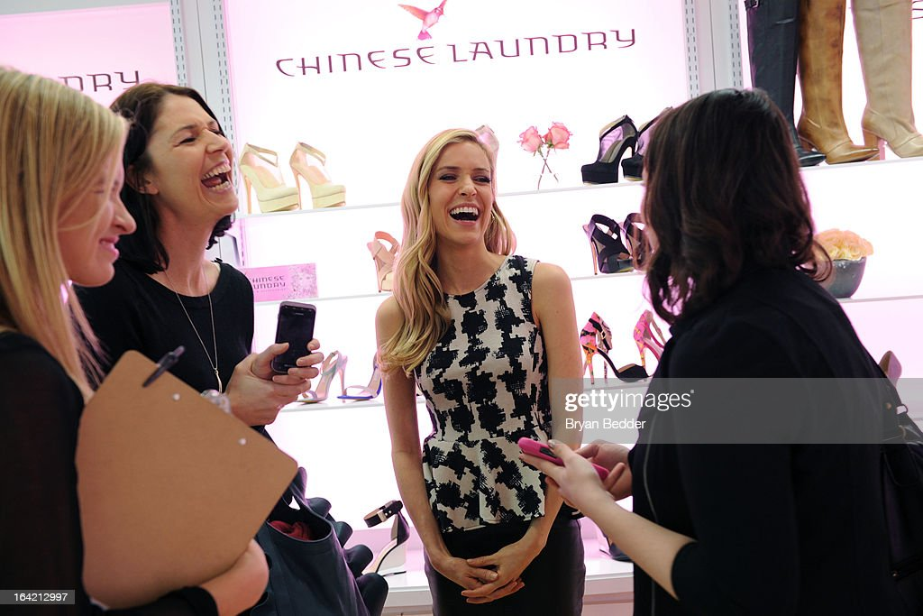 Actress <a gi-track='captionPersonalityLinkClicked' href=/galleries/search?phrase=Kristin+Cavallari&family=editorial&specificpeople=552572 ng-click='$event.stopPropagation()'>Kristin Cavallari</a> attends the Chinese Laundry Fall 2013 Preview on March 20, 2013 in New York City.
