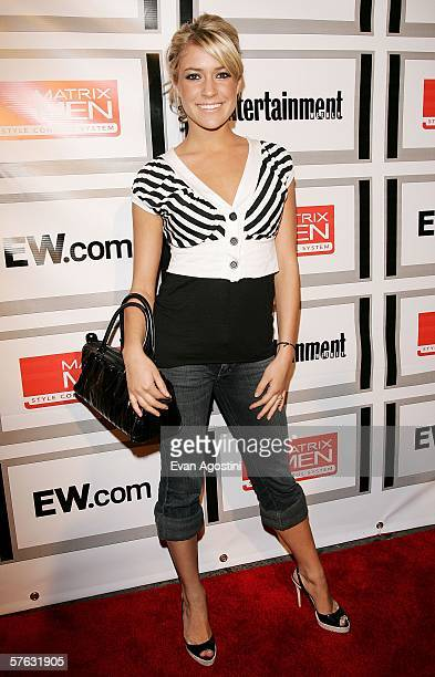 Actress Kristin Cavallari attends the Entertainment Weekly and Matrix Men upfront party at The Manor May 16 2006 in New York City