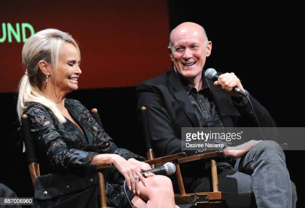 Actress Kristin Chenoweth and film producer Neil Meron attend SAGAFTRA Foundation Conversations 'Hairspray Live' at SAGAFTRA Foundation Robin...