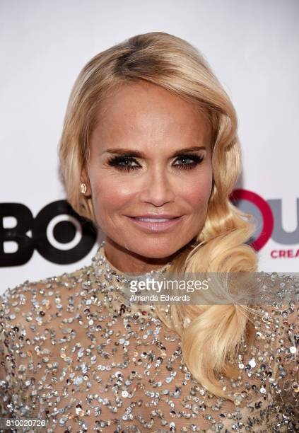 Actress Kristin Chenoweth arrives at the 2017 Outfest Los Angeles LGBT Film Festival Opening Night Gala of 'God's Own Country' at the Orpheum Theatre...