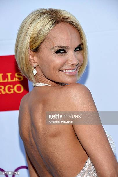 Actress Kristin Chenoweth arrives at the Hollywood Bowl Opening Night and Hall of Fame Inductions event at the Hollywood Bowl on June 21 2014 in...
