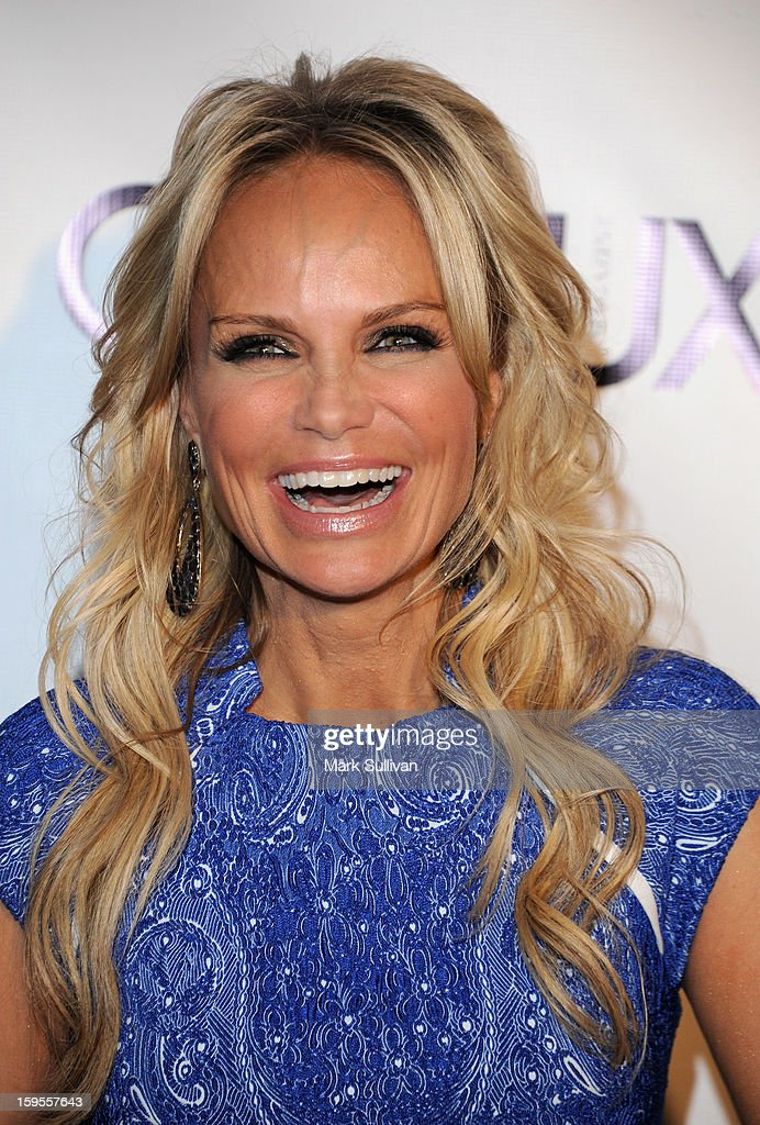 Actress Kristin Chenoweth arrives for the opening of Riviera 31 At Sofitel Los Angeles on January 15, 2013 in Los Angeles, California.