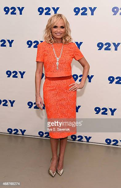 Actress Kristin Chenoweth attends 92nd Street Y Presents Back On Broadway Kristin Chenoweth And Peter Gallagher at 92nd Street Y on April 6 2015 in...