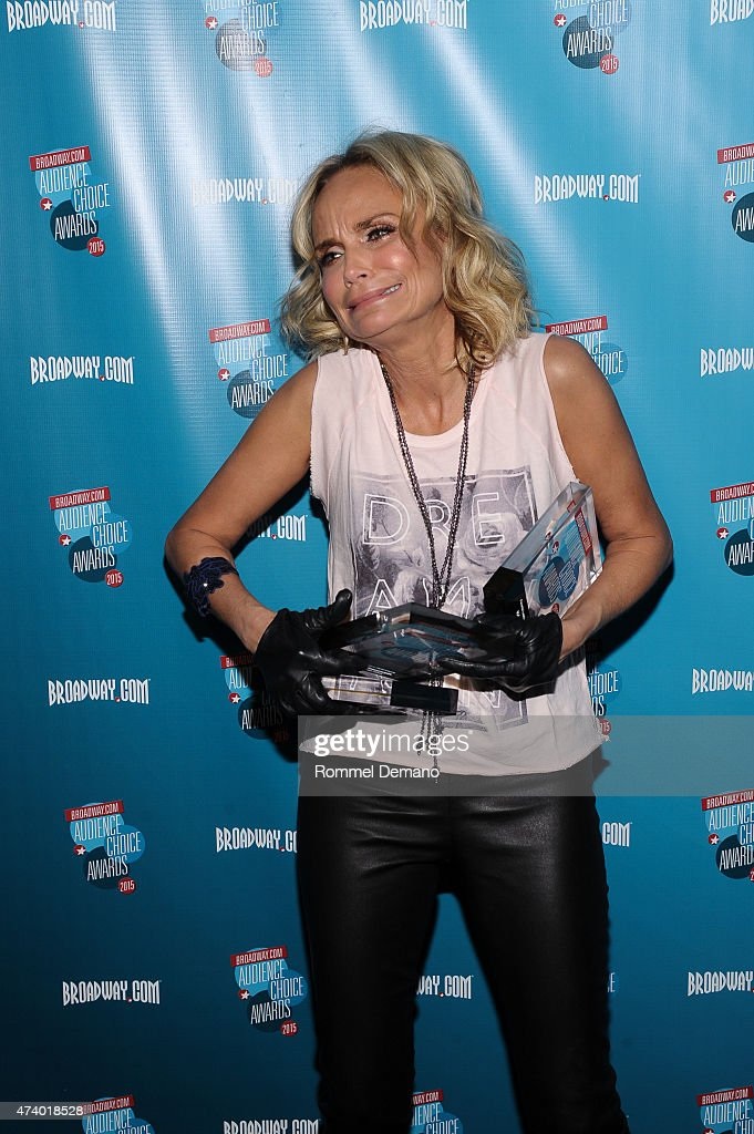 Actress Kristin Chenoweth attends Broadway.com Audience Choice Awards at Lounge 48 on May 19, 2015 in New York City.
