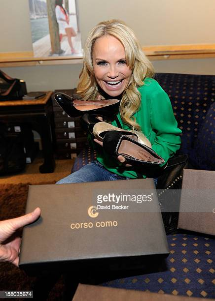 Actress Kristin Chenoweth attends the Backstage Creations Celebrity Retreat at 2012 American Country Awards at the Mandalay Bay Events Center on...