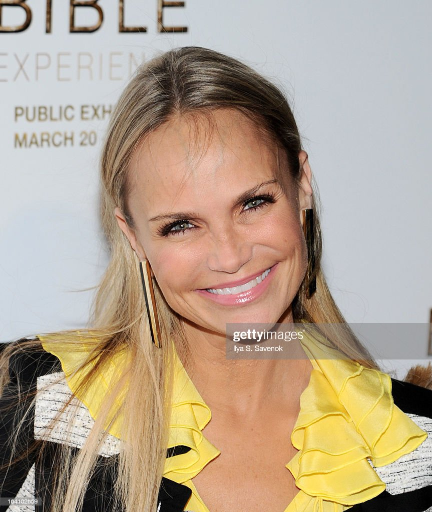 Actress Kristin Chenoweth attends 'The Bible Experience' Opening Night Gala at The Bible Experience on March 19, 2013 in New York City.
