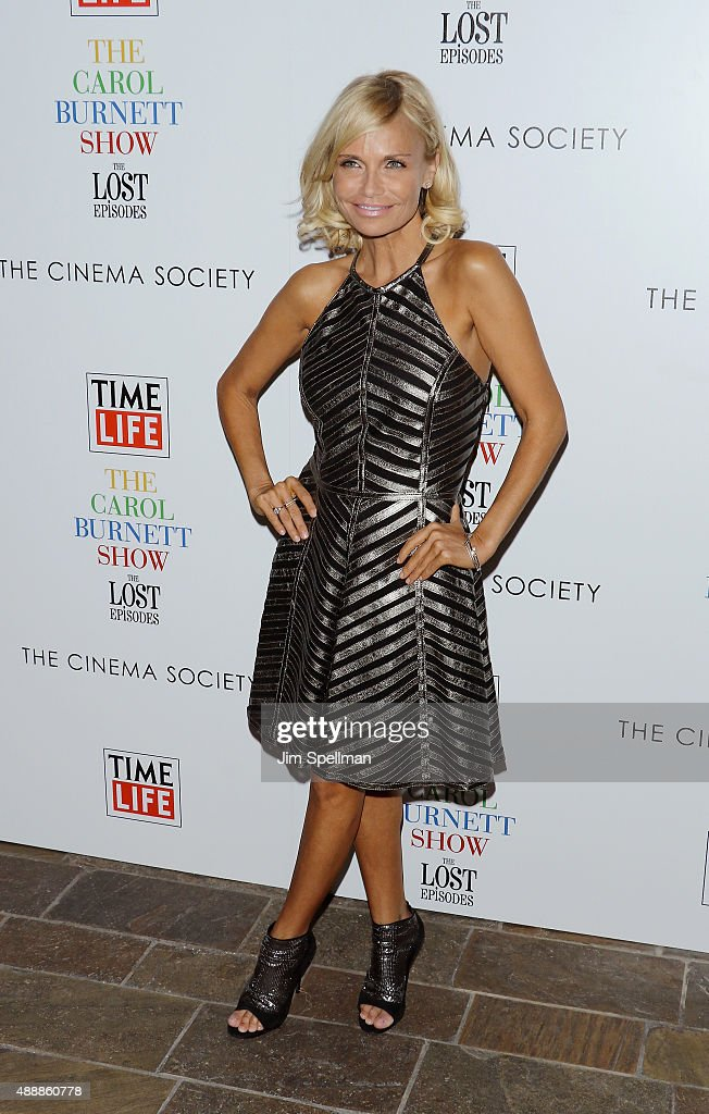 Actress Kristin Chenoweth attends 'The Carol Burnett Show: The Lost Episodes' screening hosted by Time Life and The Cinema Society at Tribeca Grand Hotel on September 17, 2015 in New York City.