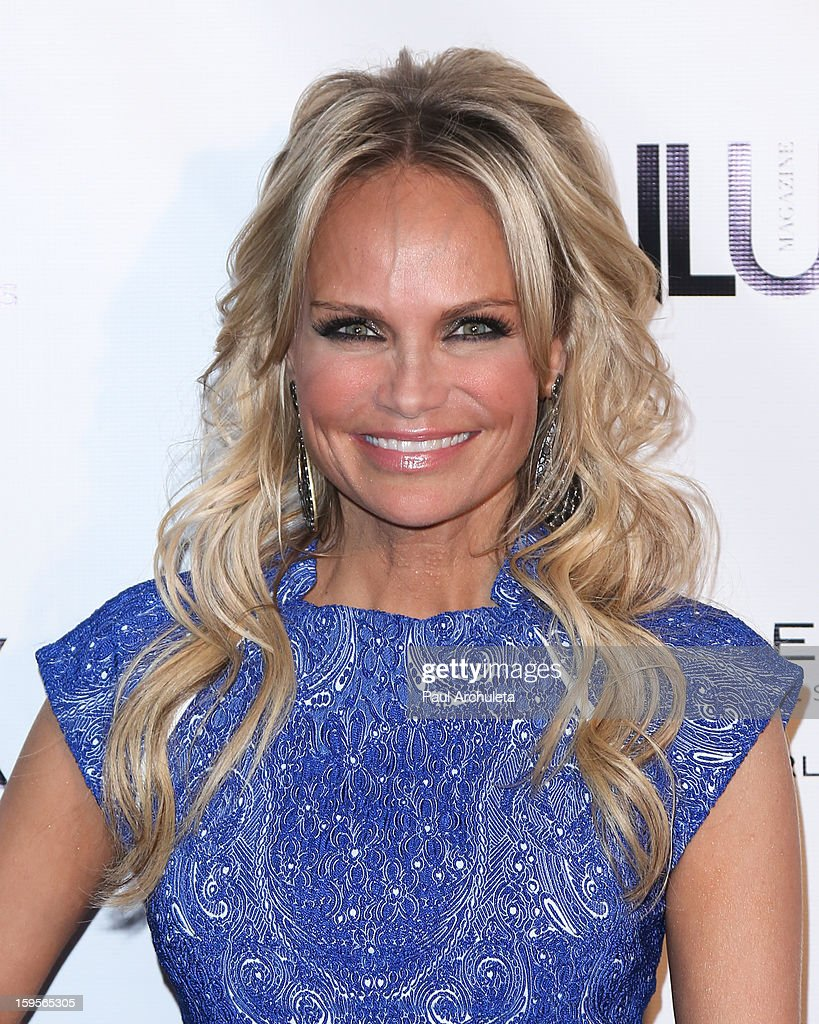 Actress Kristin Chenoweth attends the opening of the new bar Riviera 31 at the Sofitel L.A. Hotel on January 15, 2013 in Beverly Hills, California.