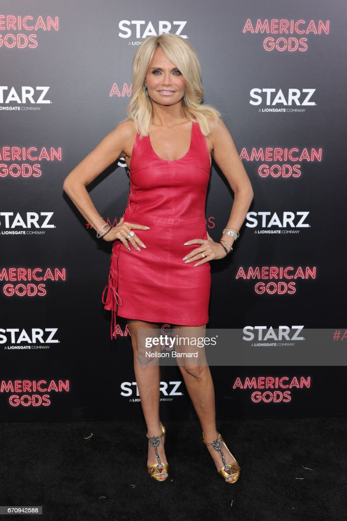 Actress Kristin Chenoweth attends the premiere of Starz's 'American Gods' at the ArcLight Cinemas Cinerama Dome on April 20, 2017 in Hollywood, California.