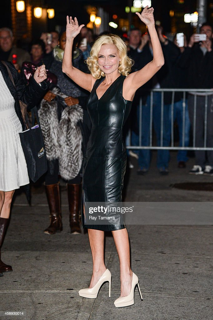 "Celebrities Visit ""Late Show With David Letterman"" - November 13, 2014"