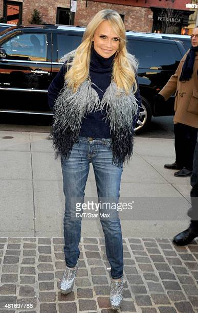 Actress Kristin Chenoweth is seen on January 17 2015 in New York City