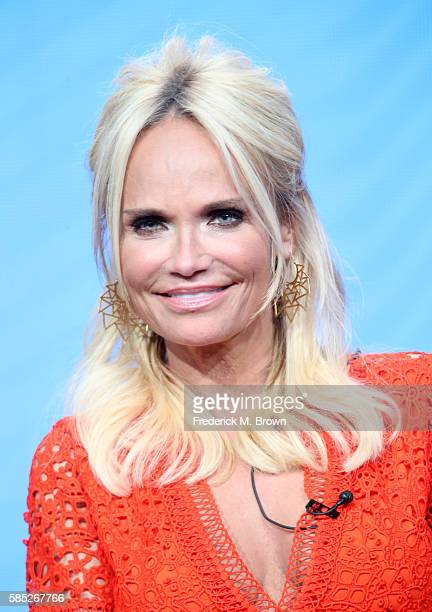 Actress Kristin Chenoweth speaks onstage at the 'Hairspray Live' panel discussion during the NBCUniversal portion of the 2016 Television Critics...