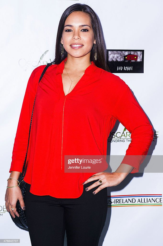 Actress Kristin Crizaldo attends the 9th Annual 'Oscar Wilde: Honoring The Irish In Film' Pre-Academy Awards event at Bad Robot on February 27, 2014 in Santa Monica, California.