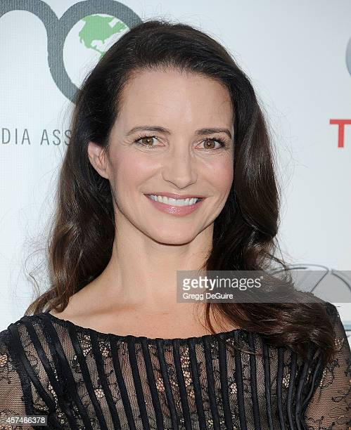 Actress Kristin Davis arrives at the 2014 Environmental Media Awards at Warner Bros Studios on October 18 2014 in Burbank California