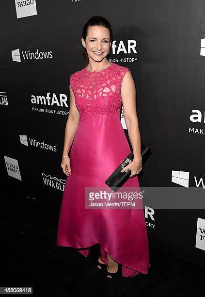 Actress Kristin Davis attends amfAR LA Inspiration Gala honoring Tom Ford at Milk Studios on October 29 2014 in Hollywood California
