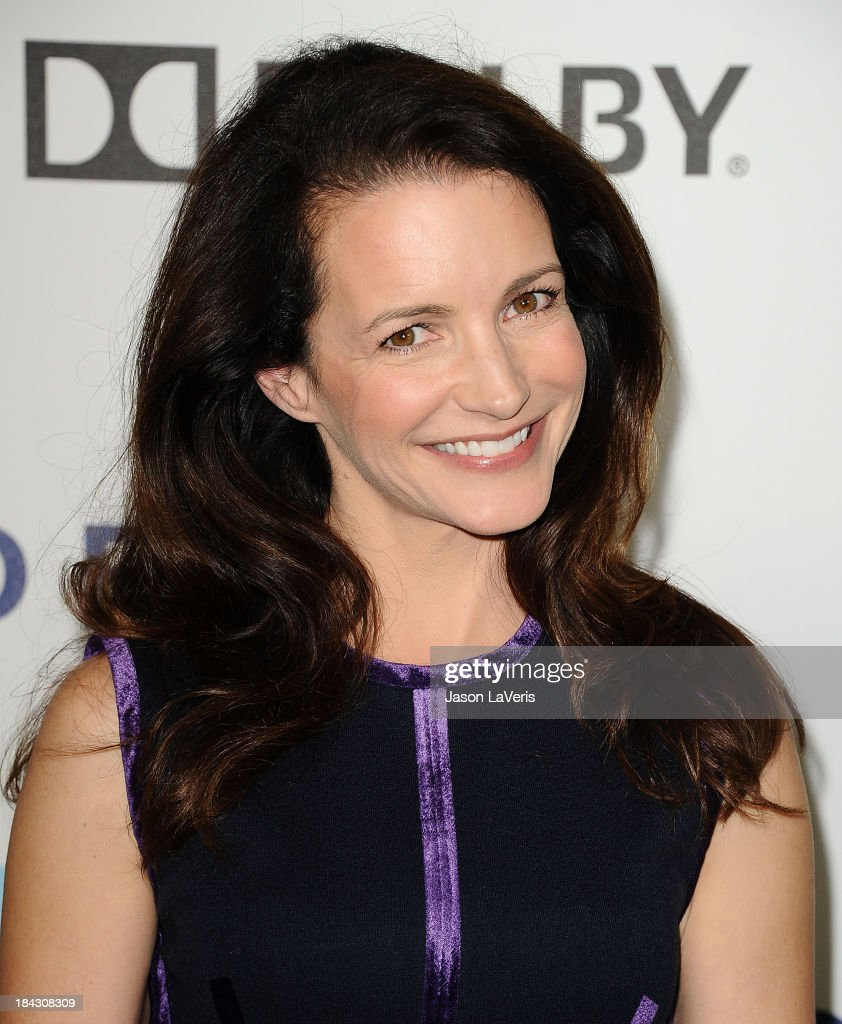 Actress <a gi-track='captionPersonalityLinkClicked' href=/galleries/search?phrase=Kristin+Davis&family=editorial&specificpeople=202097 ng-click='$event.stopPropagation()'>Kristin Davis</a> attends Hugh Jackman's 'One Night Only' benefitting the MPTF (Motion Picture & Television Fund) at Dolby Theatre on October 12, 2013 in Hollywood, California.