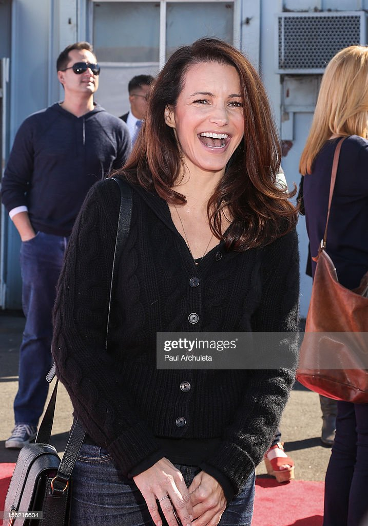 Actress Kristin Davis attends the 14th anniversary of P.S. Arts Express Yourself gala at Barker Hangar on November 11, 2012 in Santa Monica, California.