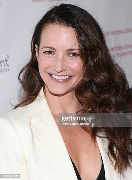 Actress Kristin Davis attends the 3rd Annual Share Our Strength No Kid Hungry Los Angeles Dinner at Ron Burkle's Green Acres Estate on October 29...