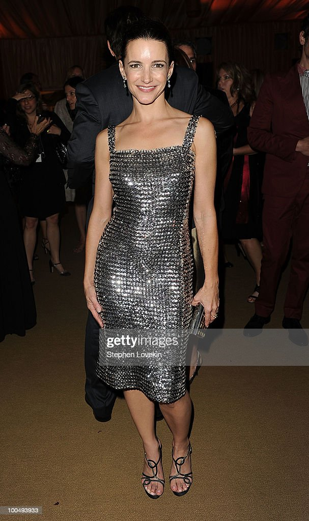 Actress Kristin Davis attends the after party following the premiere of 'Sex and the City 2' at Lincoln Center for the Performing Arts on May 24, 2010 in New York City.
