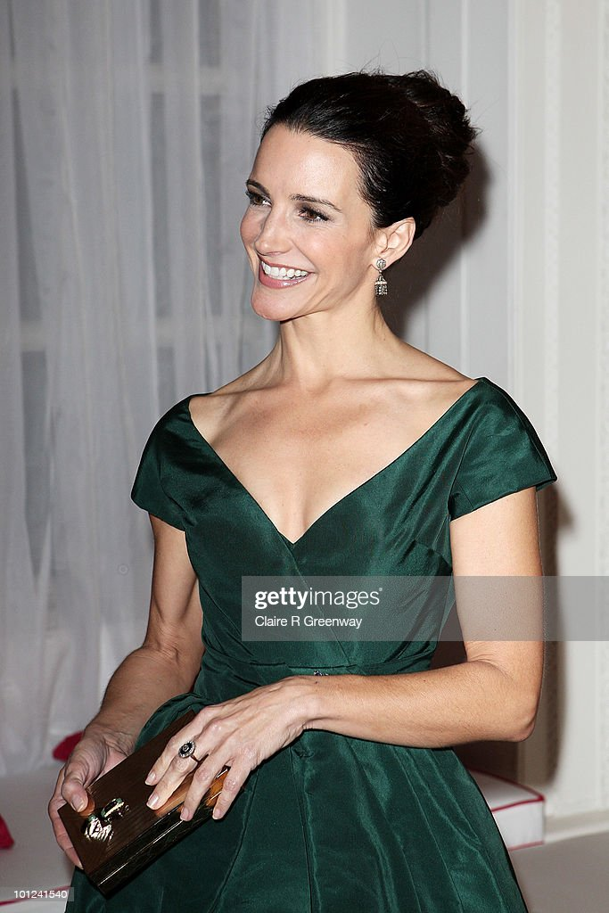 Actress Kristin Davis attends the after party following the UK premiere of 'Sex And The City 2' at The Orangery, Kensington Gardens on May 27, 2010 in London, England.