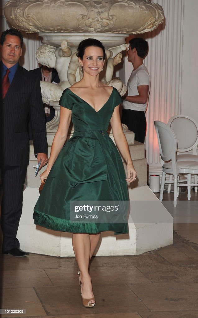 Actress Kristin Davis attends the afterparty for 'Sex And The City 2' at Kensington Palace on May 27, 2010 in London, England.