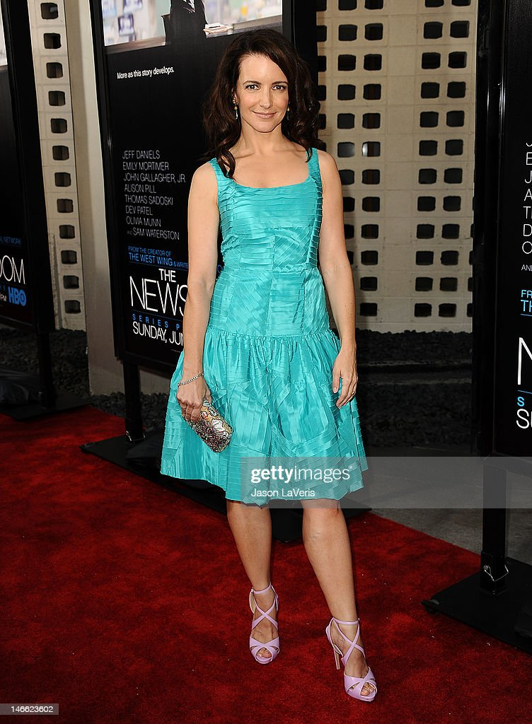 Actress Kristin Davis attends the premiere of HBO's 'Newsroom' at ArcLight Cinemas Cinerama Dome on June 20, 2012 in Hollywood, California.