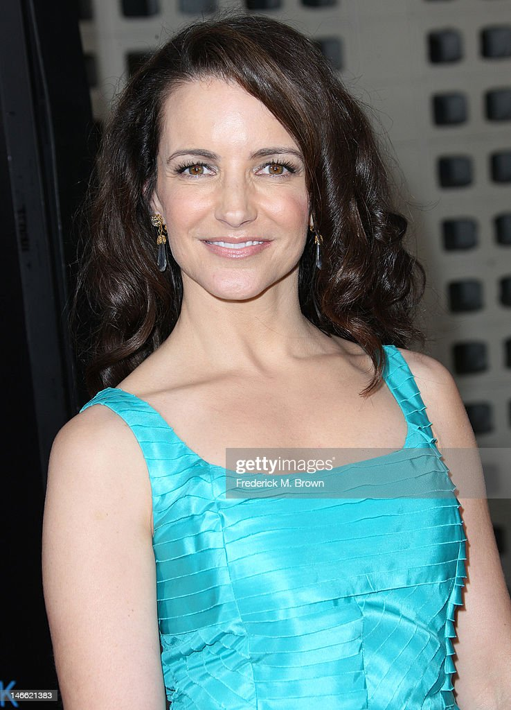 Actress Kristin Davis attends the Premiere Of HBO's 'The Newsroom' at the ArcLight Cinemas Cinerama Dome on June 20, 2012 in Hollywood, California.