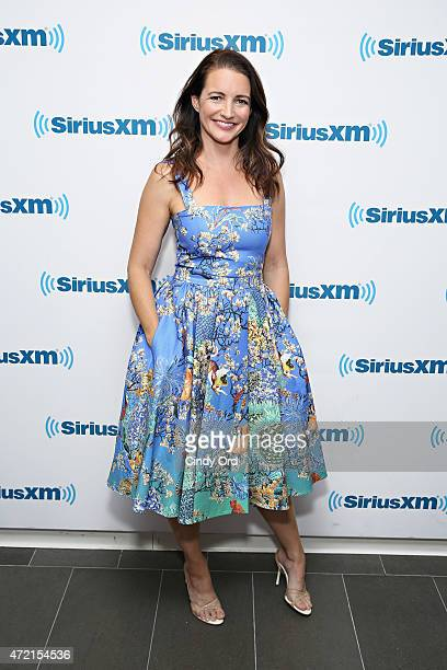 Actress Kristin Davis visits the SiriusXM Studios on May 4 2015 in New York City