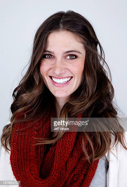Actress Kristin Erickson poses for a portrait during the 2012 Sundance Film Festival at the WireImage Portrait Studio at TMobile Village at the Lift...