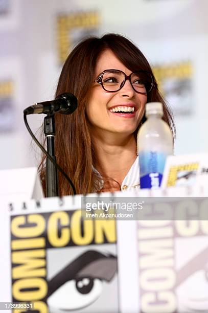 Actress Kristin Kreuk attends the 'Beauty And The Beast' panel during ComicCon International 2013 at San Diego Convention Center on July 18 2013 in...