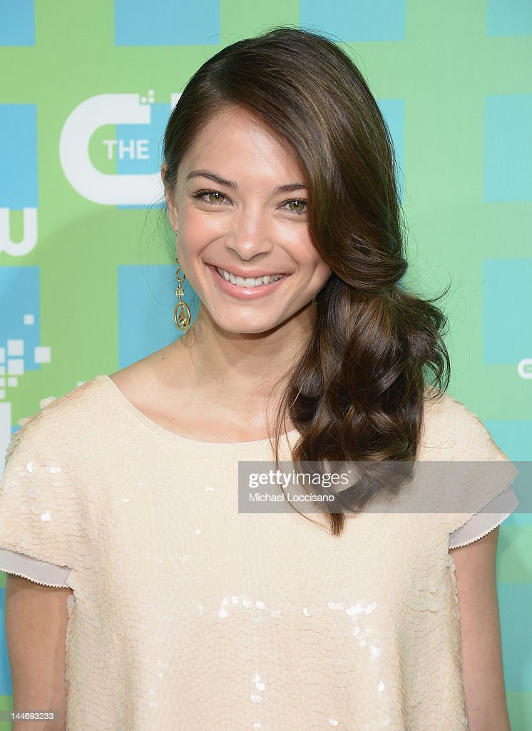 Actress Kristin Kreuk attends The CW Network's New York 2012 Upfront at New York City Center on May 17, 2012 in New York City.