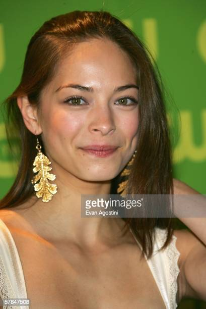 Actress Kristin Kreuk attends the CW Television Network Upfront at Madison Square Garden May 18 2006 in New York City