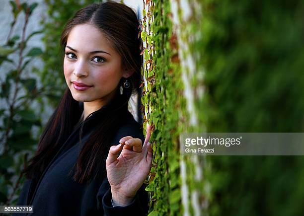 Actress Kristin Kreuk the all–American star of Smallville plays Snow White in an upcoming movie