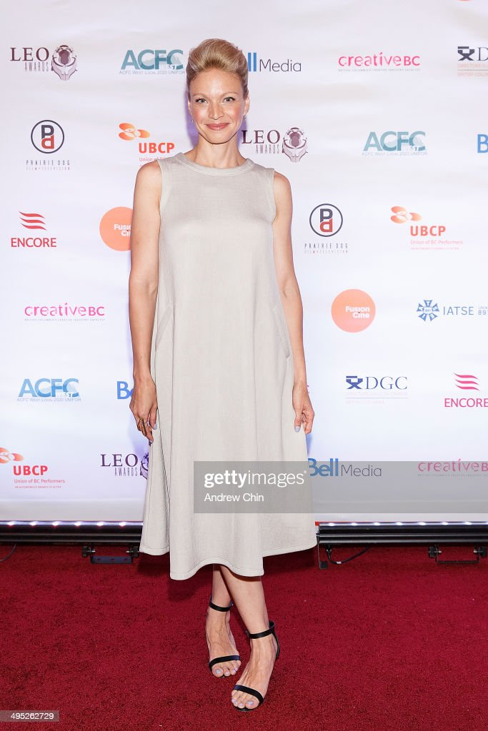 Actress Kristin Lehman attends the 2014 Leo Awards - Gala Awards Ceremony at Fairmont Hotel Vancouver on June 1, 2014 in Vancouver, Canada.